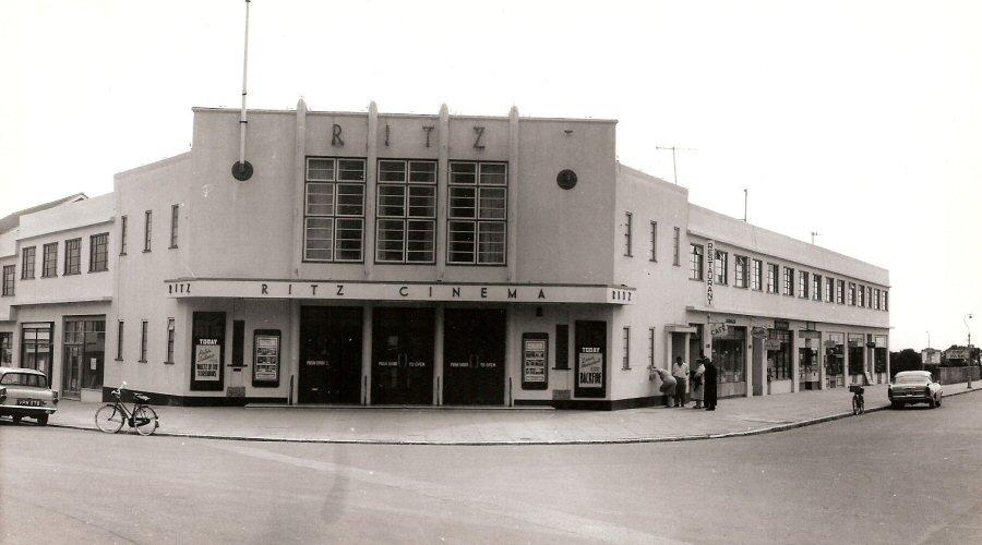 Ritz Cinema 1962 now Morrisons