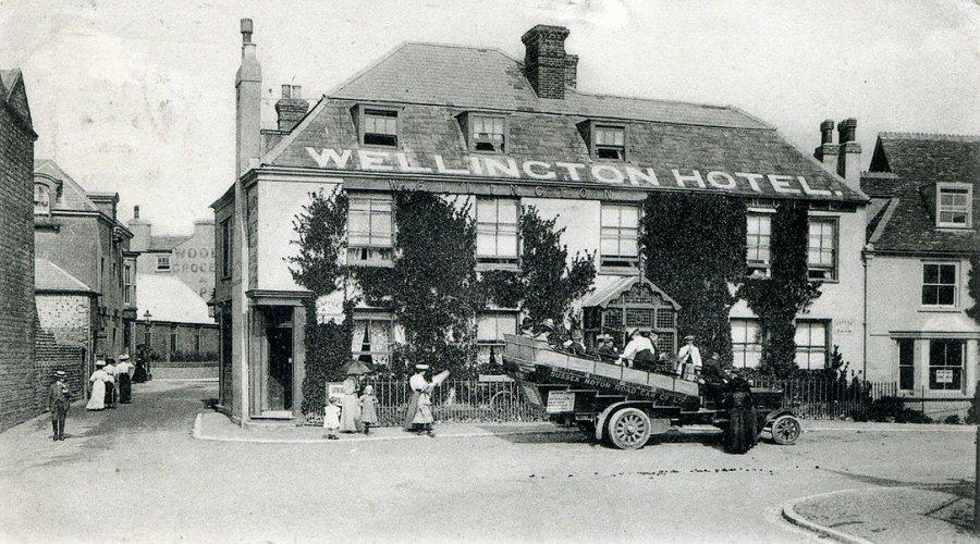 The Wellington circa 1918