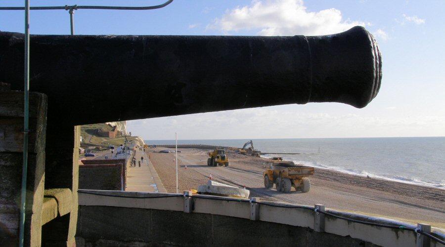 The Martello Cannon